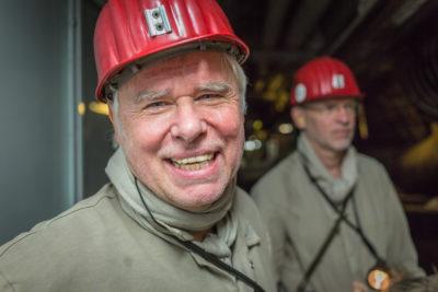 Bergwerk Prosper-Haniel - Kameramann Jochen Balke + Tonmeister Jens Meißburger